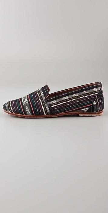 Osborn Black Pattern Loafers