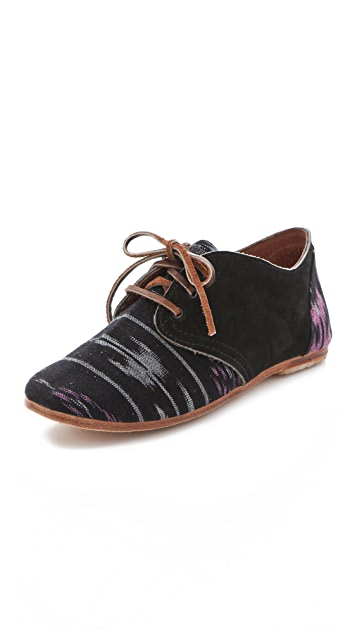 Osborn Ikat Print Oxfords