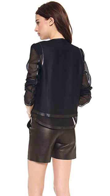 O'2nd Double Layered Mesh Jacket