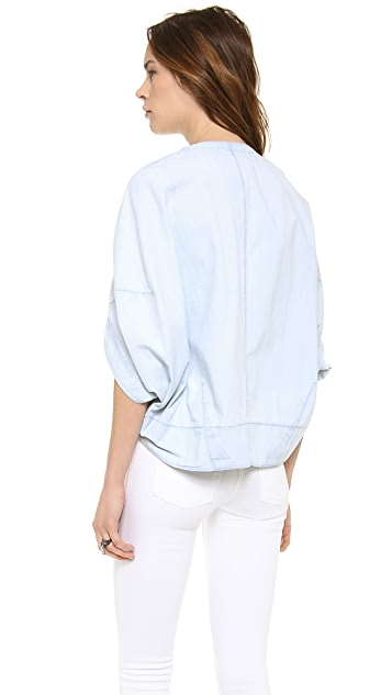 O'2nd Coated Short Sleeve Jacket