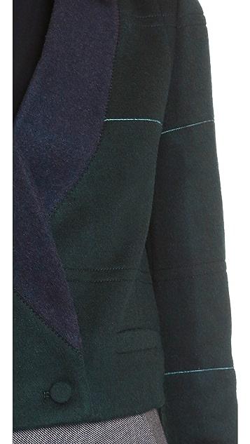 O'2nd Collar Detail Crop Jacket