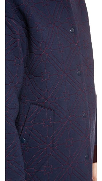 O'2nd Star Quilting Varsity Coat