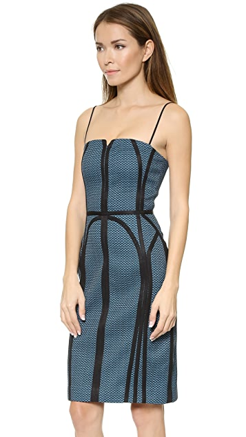 O'2nd Honeycomb Print Dress