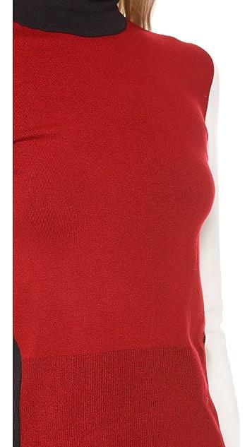 Osklen Tricolor Turtleneck Sweater