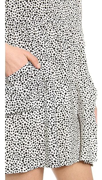 OTTE NEW YORK Printed Morgan Dress