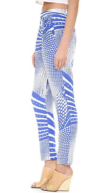 OTTE NEW YORK Print Classic Pants