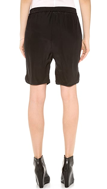 OTTE NEW YORK Solid Long Shorts