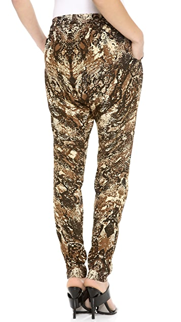 OTTE NEW YORK Snake Harem Pants