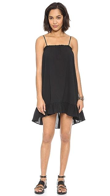 OTTE NEW YORK Cotton Gauze St. Barth's Dress