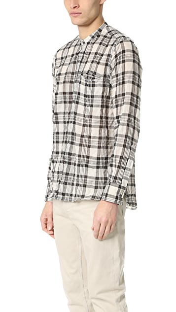 Ovadia & Sons Crosby Plaid Shirt