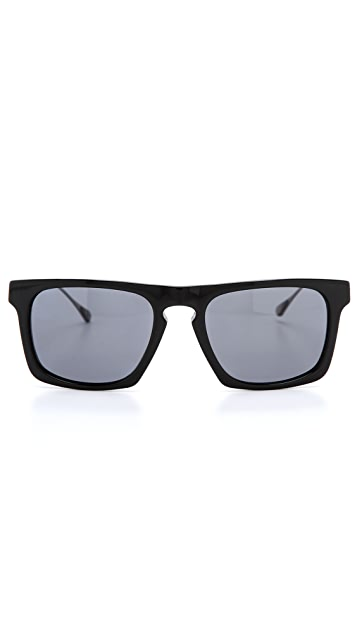 Oliver Peoples West San Luis Black Sunglasses