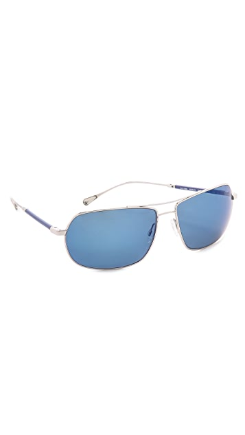 Oliver Peoples West Bates Polarized Sunglasses