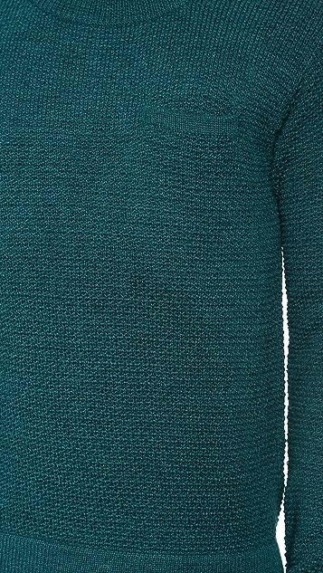 Patrik Ervell Pocket Sweater in Baby Alpaca