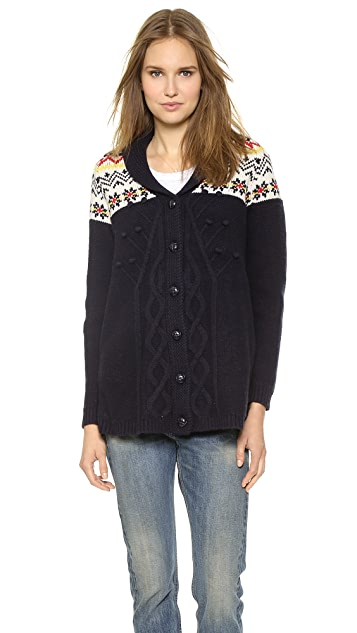 Paul & Joe Sister Twin A Line Cardigan