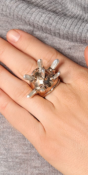 Pamela Love Crystal Dome Ring
