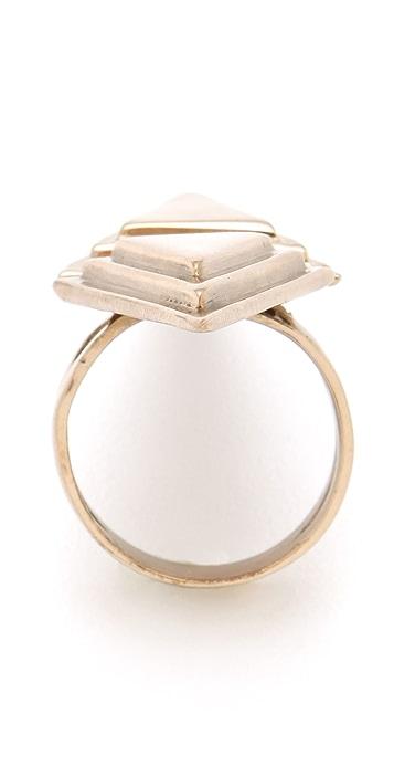 Pamela Love Double Pyramid Ring