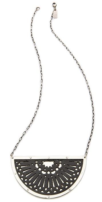 Pamela Love Zellij Pendant Necklace