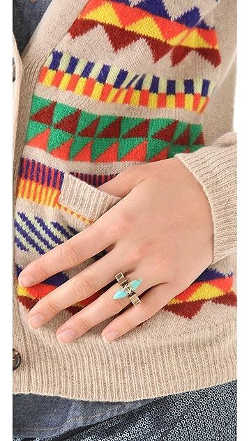 Pamela Love Triangular Cutout Ring