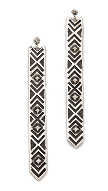 Pamela Love Long Paramount Earrings