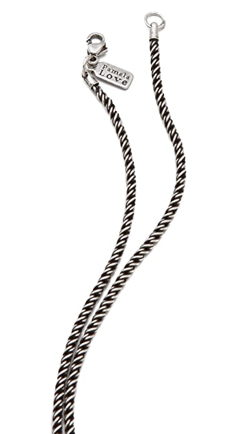 Pamela Love Keyhole Necklace