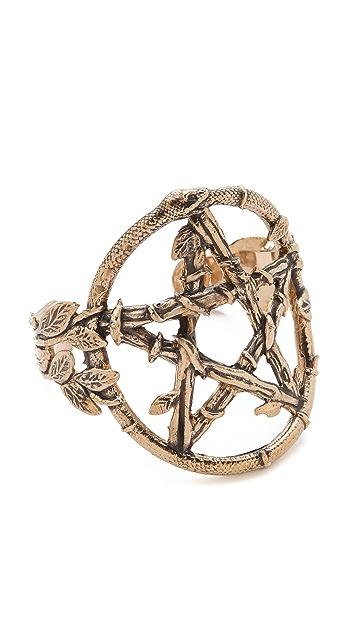 Pamela Love Snake Pentagram Cuff