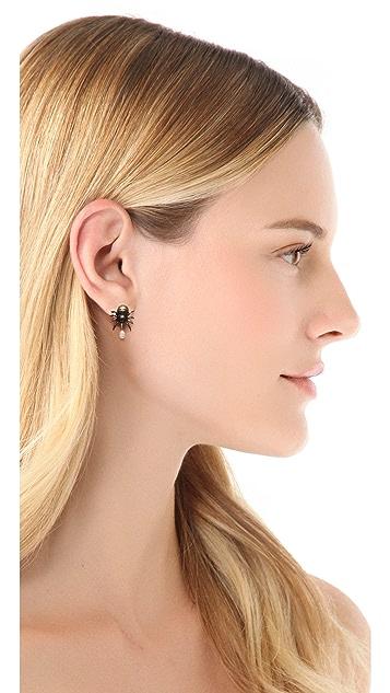Pamela Love Spider Earrings
