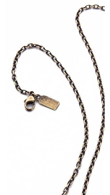 Pamela Love Large Serpent Pendant Necklace