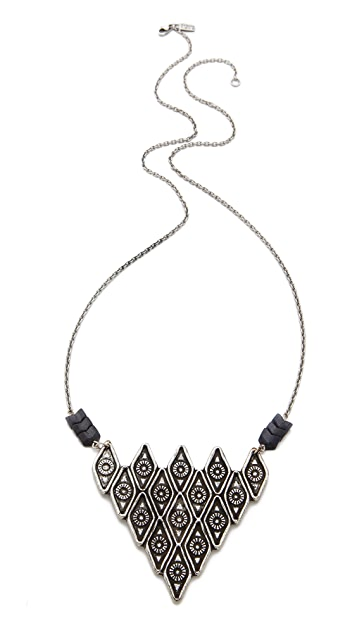 Pamela Love Oculus Pyramid Pendant Necklace