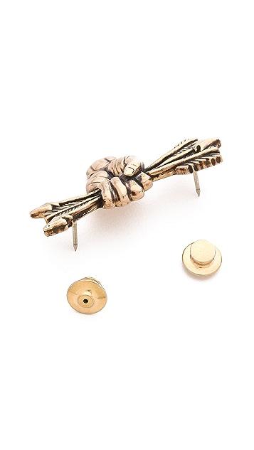 Pamela Love Arrow Pin