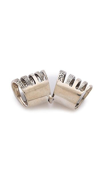 Pamela Love Double Cage Ring