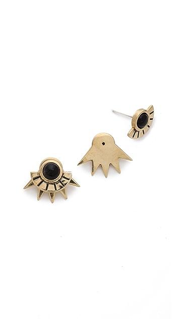 Pamela Love Sun Ray Stud Earrings
