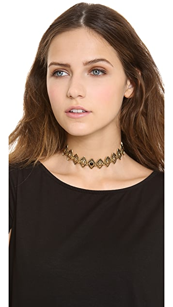 Pamela Love Eye Link Choker Necklace