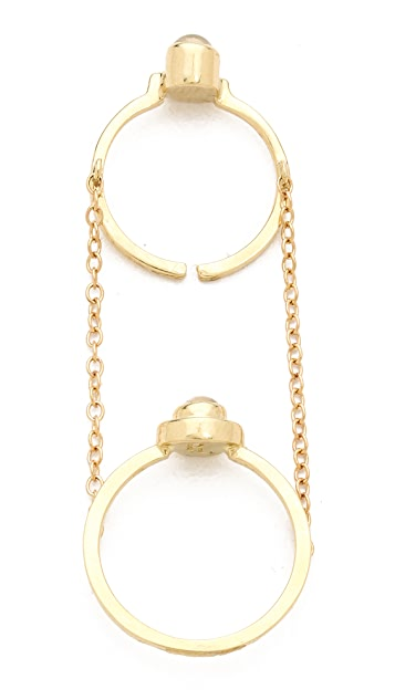 Pamela Love Gravitation Chain Ring