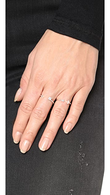 Pamela Love 星星复古戒指
