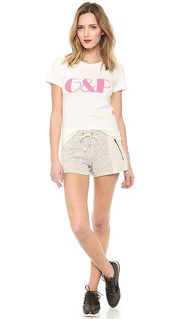 Pam & Gela Zip Detail Shorts