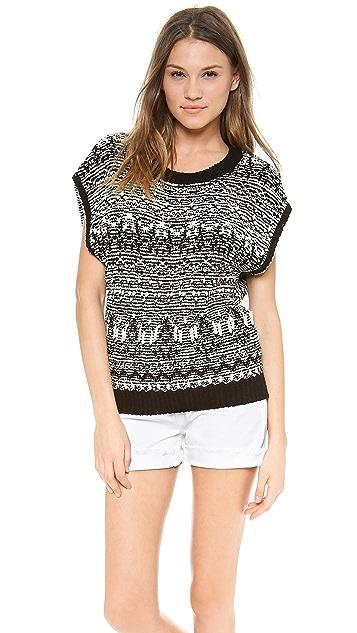 Pam & Gela Open Back Sweatshirt
