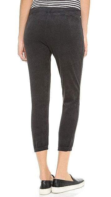 Pam & Gela Zip Detail Crop Pants