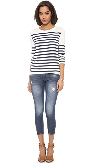 Pam & Gela Striped Pullover