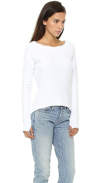 Pam & Gela Hi Lo Sweatshirt