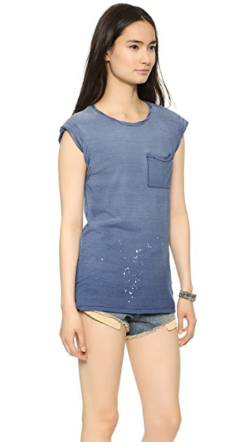 Pam & Gela Pocket Muscle Tee