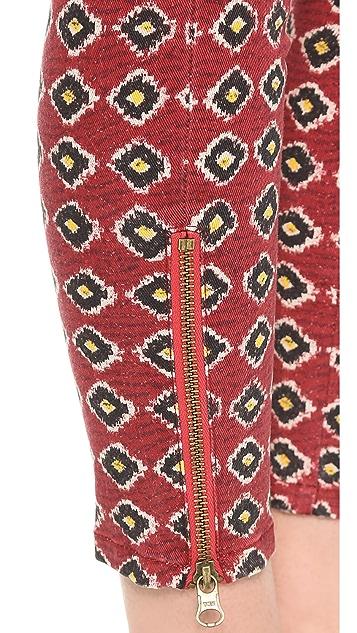Pam & Gela Printed Twill Pants