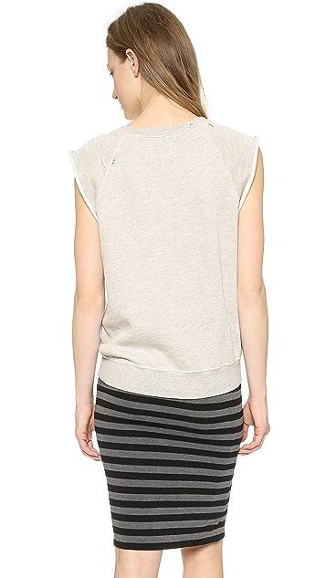 Pam & Gela Sleeveless Muscle Sweatshirt