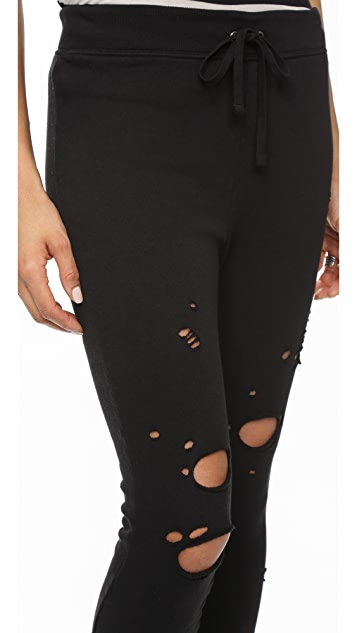 Pam & Gela Betsee Sweatpants with Holes