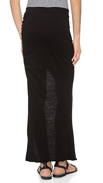 Pam & Gela Maxi Skirt with Slit