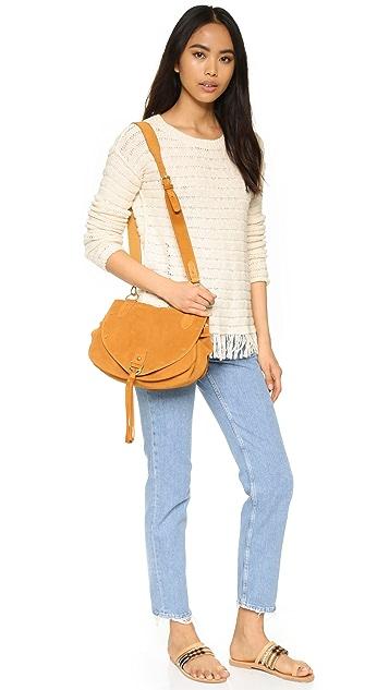 Pam & Gela Fringe Sweater