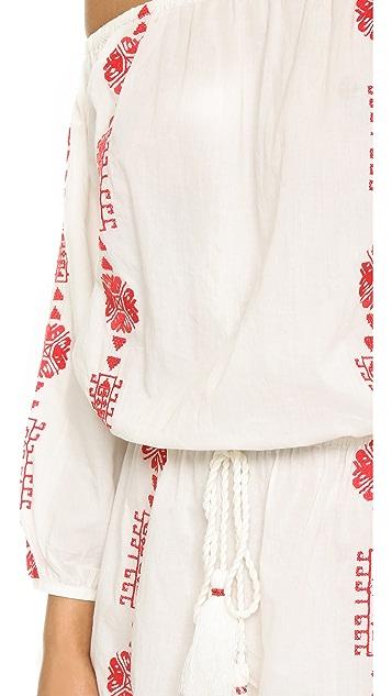 PAMPELONE Bardot Mini Dress