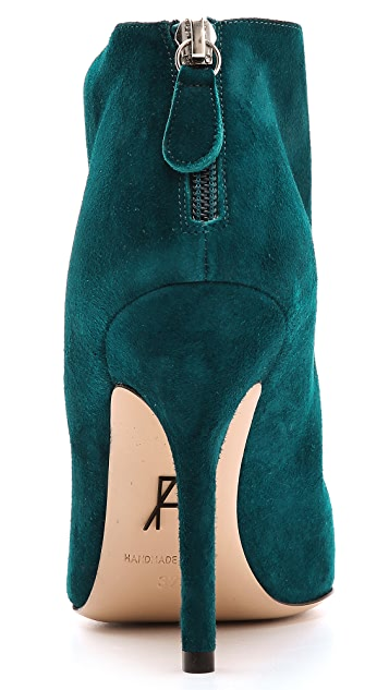 Paul Andrew Empress Embroidered Booties