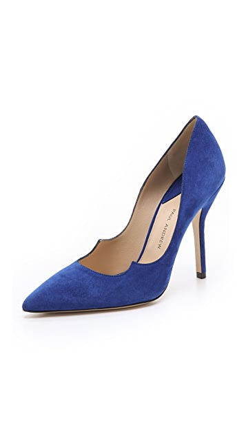 Paul Andrew Zenadia Suede Pumps