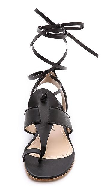 Paul Andrew Persica Flat Sandals