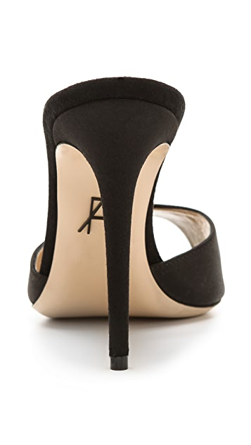 Paul Andrew Aristata Peep Toe Mules